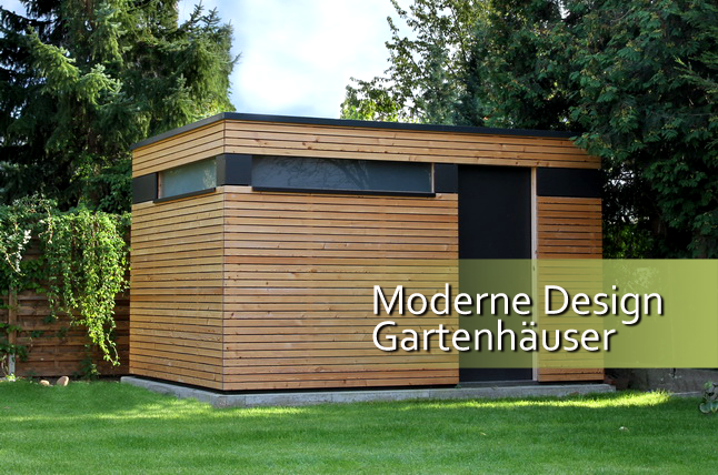 gartenhaus l rche modern my blog. Black Bedroom Furniture Sets. Home Design Ideas